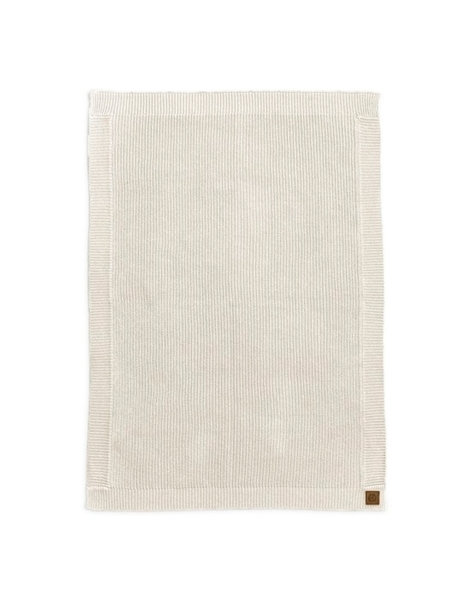 Elodie Details - Κουβέρτα Wool Knitted Vanilla White
