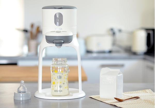 Beaba Συσκευή Προετοιμασίας Γάλακτος 3 σε 1 Bib'expresso White Grey