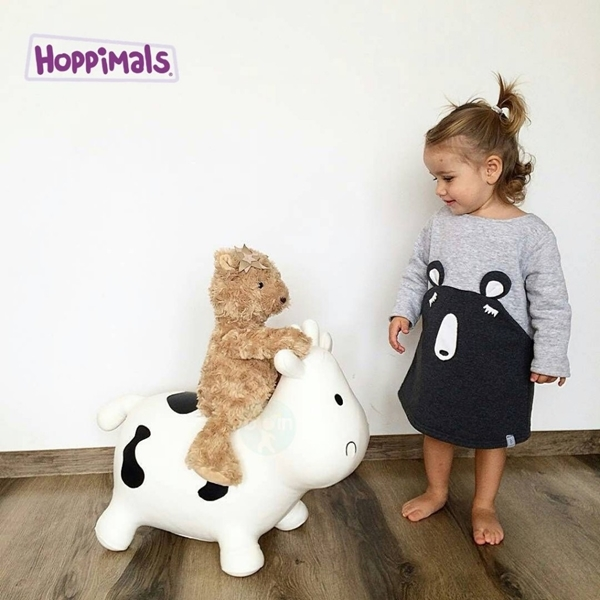 Hoppimals Φουσκωτό Χοπ Χοπ, Αγελάδα