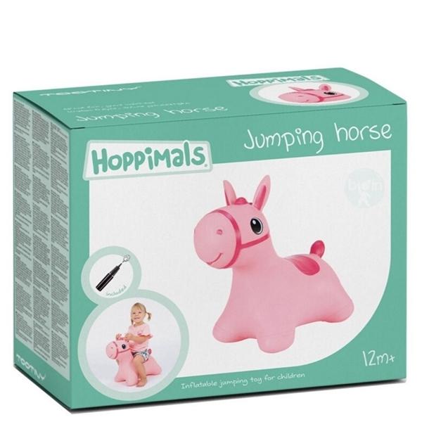 Hoppimals Φουσκωτό Χοπ Χοπ, Ροζ Αλογάκι