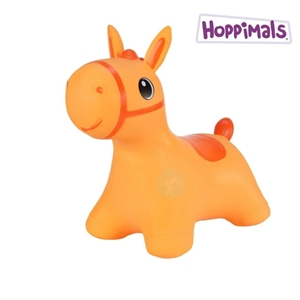 Hoppimals Φουσκωτό Χοπ Χοπ, Πορτοκαλί Αλογάκι