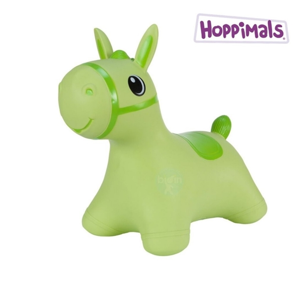 Hoppimals Φουσκωτό Χοπ Χοπ, Πράσινο Αλογάκι
