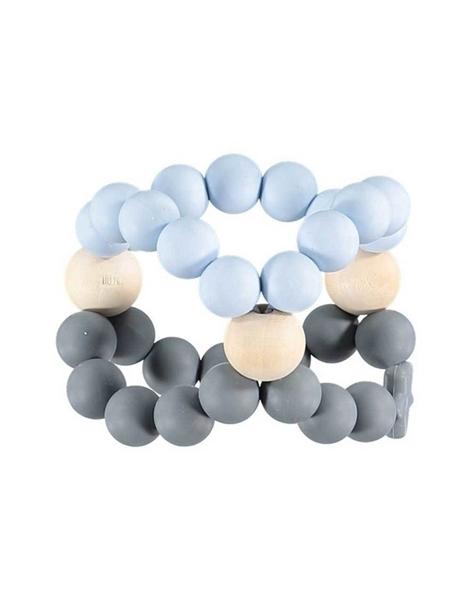 Nibbling Μασητικό Κύβος Οδοντοφυίας Blue and Grey