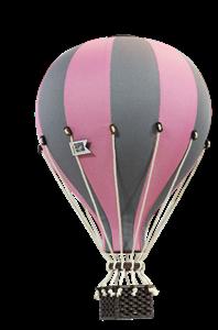 SuperBalloon Διακοσμητικό Αερόστατο Pink Grey medium