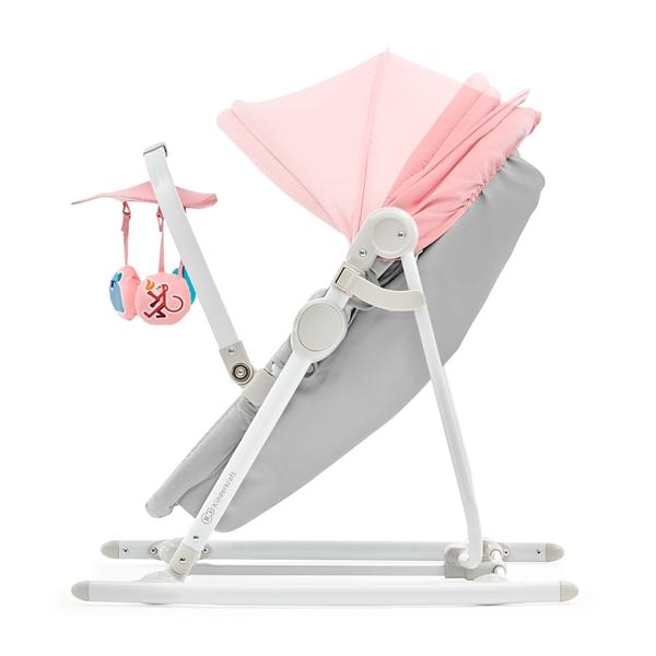 Kinderkraft Βρεφικό Ρηλάξ 5 σε 1 Unimo, Pink