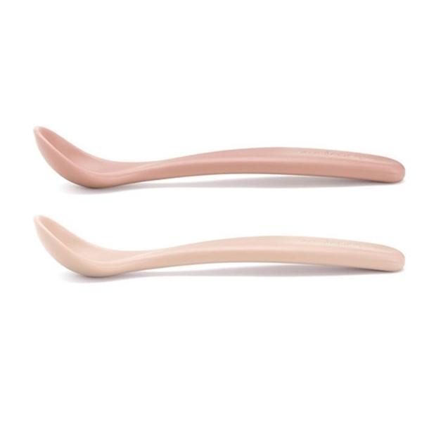 Suavinex Κουταλάκια Φαγητου 2 Τεμαχιών Forest Pink