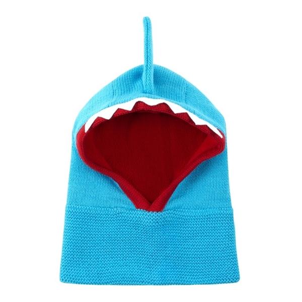 Zoocchini Σκουφάκι Balaclava Sherman the Shark 12-24m