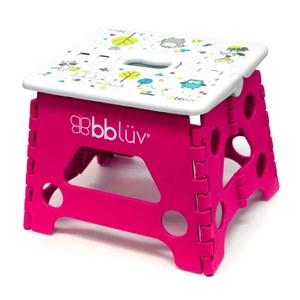 bbluv Step Stool Αναδιπλούμενο Σκαλάκι Pink