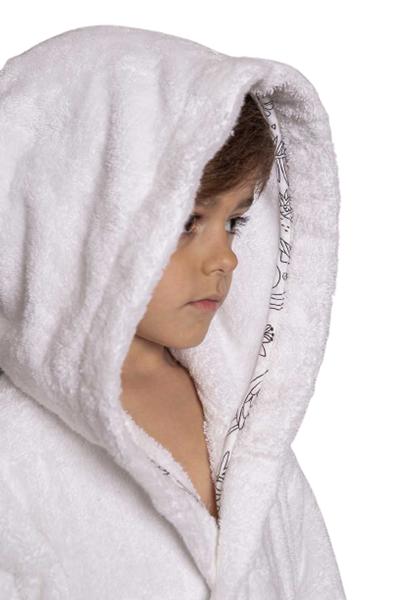Picture of Mother Touch Παιδικό Μπουρνούζι Monkey – Ηλικία 6 Ετών