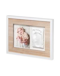 Baby Art Κορνίζα Τοίχου Αποτύπωμα Tiny Style Wooden