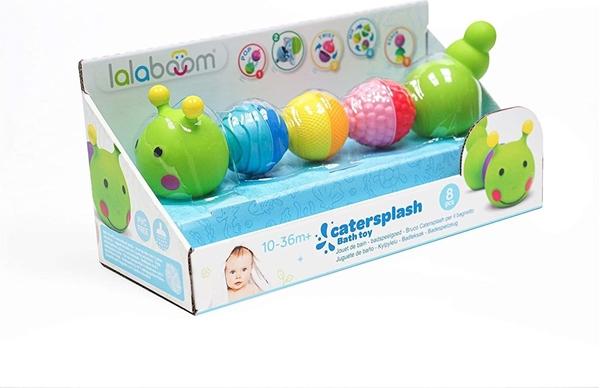 Lalaboom Εκπαιδευτικό Παιχνίδι Μπάνιου με Χάντρες Κάμπια 8τμχ