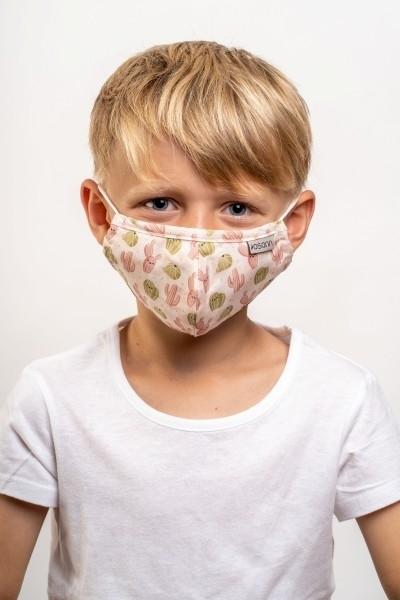Osann Υφασμάτινη Παιδική Μάσκα Κάκτοι με 5 φίλτρα
