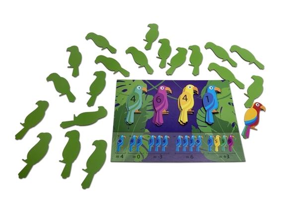 Picture of BS Toys Παπαγάλοι Αριθμητικής - Parrots