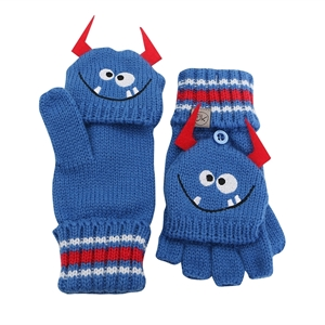 FlapJackKids Πλεκτά Γάντια Monster 2-4 ετών
