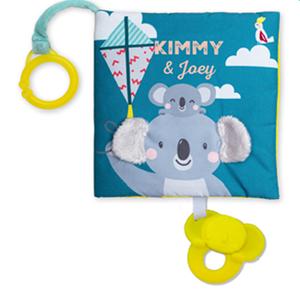 Taf Toys Υφασμάτινο Βιβλίο Δραστηριοτητήτων Where is Joey 6M+