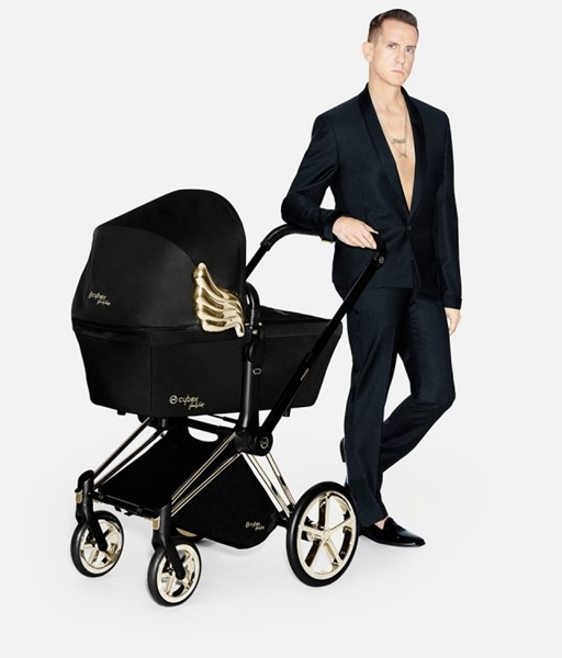 Cybex Lux Carry Cot for Priam, Wings by Jeremy Scott