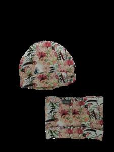 Ul & Ka Σκούφος και Λαιμός Boho Flowers