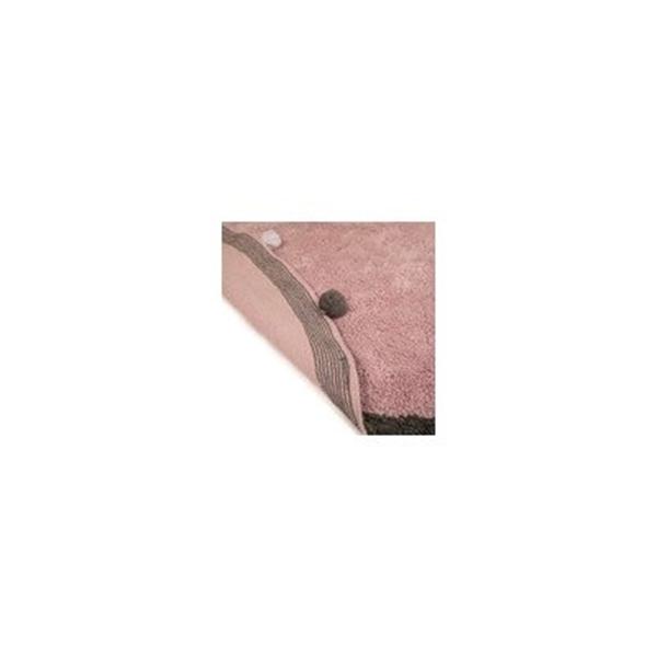 Baby Adventure Χαλί Δωματίου Pink Grey 150cm