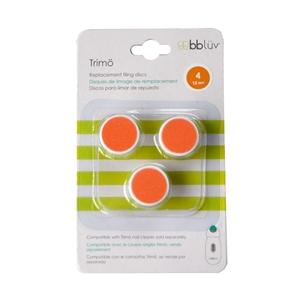 bbluv- Trimo Ανταλλακτικοί Δίσκοι Ηλεκτρικής Λίμας, Πορτοκαλί 12m+