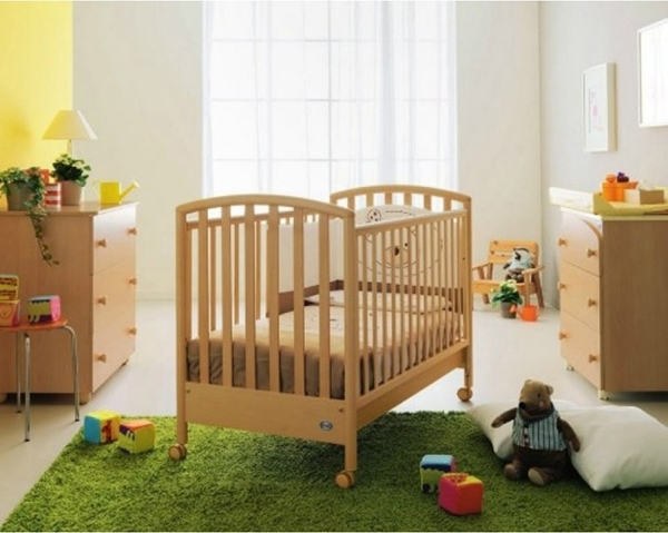 Pali Παιδικό Kρεβατάκι Ciak Natural