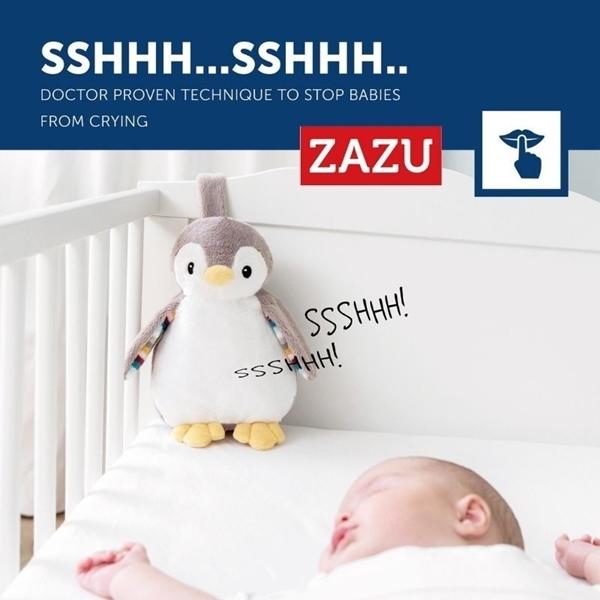 Picture of Zazu Φοίβη Πιγκουίνος Εγγραφής Φωνής, Αναπαραγωγή Λευκών Ήχων και Φως