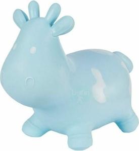 Hoppimals Φουσκωτό Χοπ Χοπ, Αγελάδα Blue