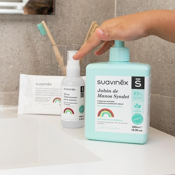 Suavinex Αντισηπτικό Σαπούνι Χεριών 500ml.
