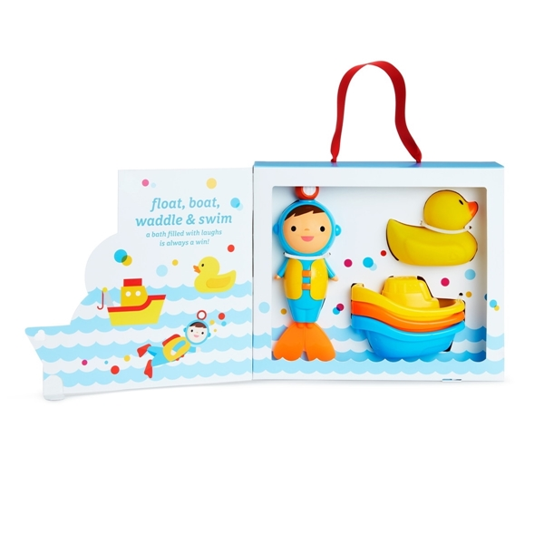 Munchkin Σετ Παιχνίδια Μπάνιου Baby's 1st Bath Gift
