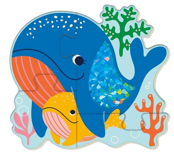 Avenir Ξύλινο Παζλ Touch Puzzle Sea