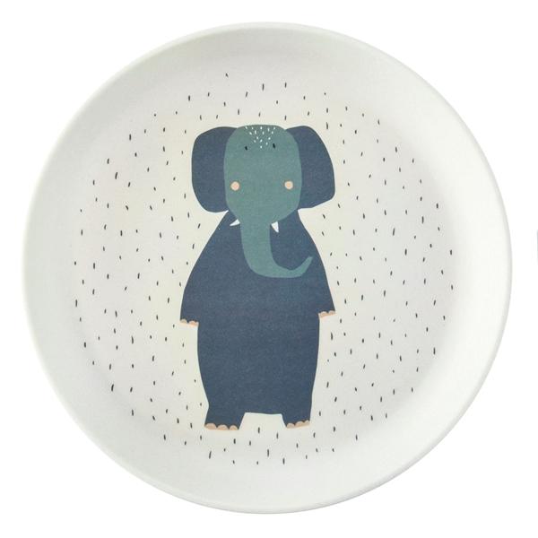 Trixie Πιάτο από Μπαμπού Mrs.Elephant