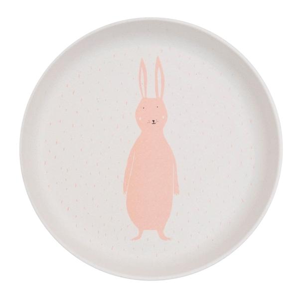 Trixie Πιάτο από Μπαμπού Mrs. Rabbit