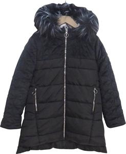 Εβίτα Fashion Μπουφάν Με Βελουτέ Ώμους, Μαύρο