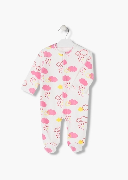 Losan Φορμάκι Clouds Για Νεογέννητο Κορίτσι, Εκρού