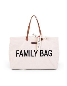 Childhome Τσάντα Family Bag Teddy OffWhite
