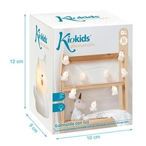 Kiokids Φωτάκια Διακόσμησης Δωματίου Μονόκερος 10 τεμάχια