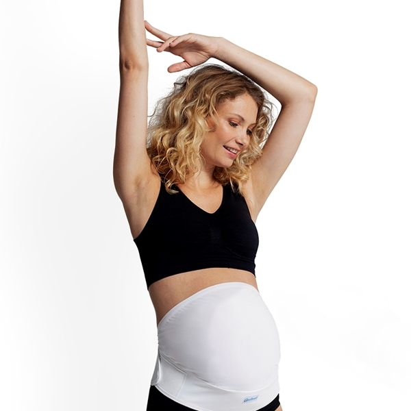 Carriwell Ρυθμιζόμενη Ζώνη Εγκυμοσύνης με Velcro Μαύρη L/XL