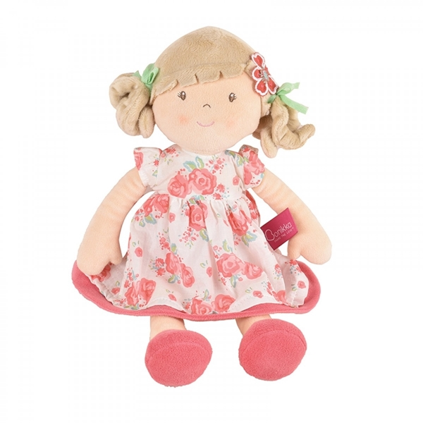 Bonikka Υφασμάτινη Κούκλα Scarlet 35cm