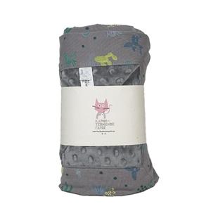 Καρφιτσωμένος Γάτος - Βρεφική Κουβέρτα Αγκαλιάς με σχέδιο Desert Flora