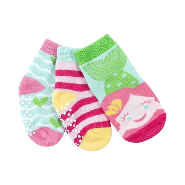 Zoocchini - Αντιολισθήτικά Καλτσάκια Grip + Easy Καλτσάκια Marietta the Mermaid 0-24 μηνών