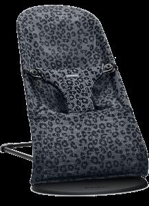 BabyBjorn Ρηλάξ Balance Bliss Mesh, Anthracite Leopard