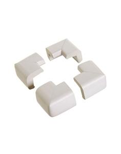 DreamBaby Προστατευτικό Γωνιών Foam 4 τμχ Grey
