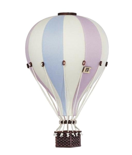SuperBalloon Διακοσμητικό Αερόστατο Pastel Pink Blue medium
