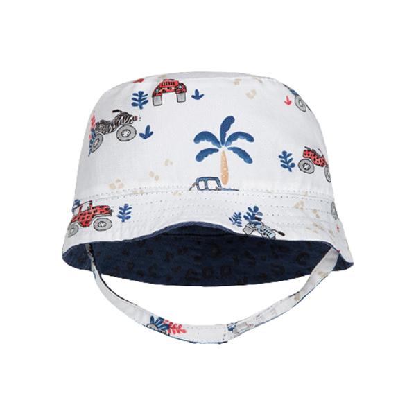 Mayoral Καπέλο Διπλής Όψεως baby αγόρι, Μπλέ