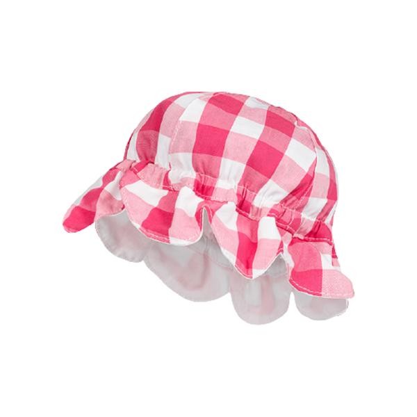 Mayoral Καπέλο Καρώ baby κορίτσι, Ροζ