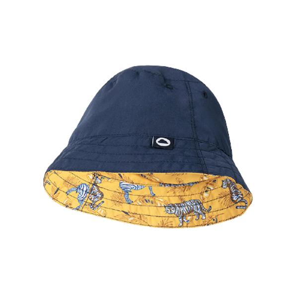 Mayoral Σετ Μαγιώ Με Καπέλο Διπλής Όψεως, Κίτρινο