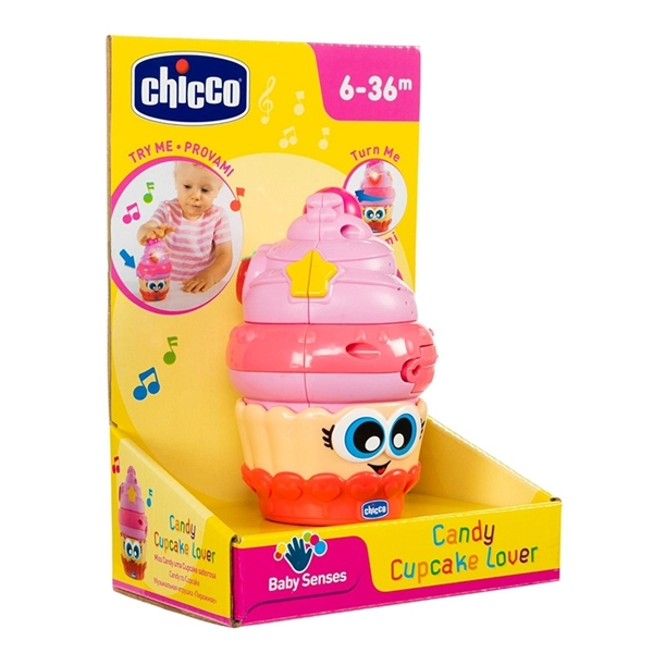 Chicco Παιχνίδι Candy Cupcake