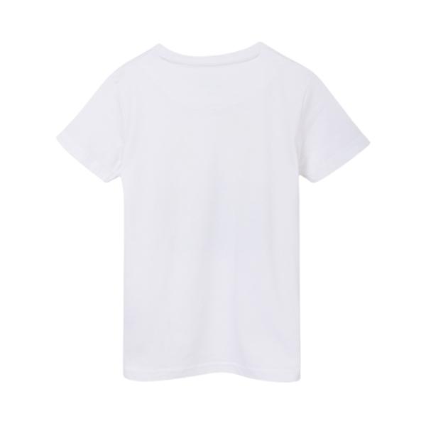Mayoral Κοντομάνικη Μπλούζα Ecofriends Για Αγόρι City, Λευκό