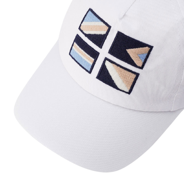 Mayoral Καπέλο Σημαίες Με Γείσο baby αγόρι, Λευκό