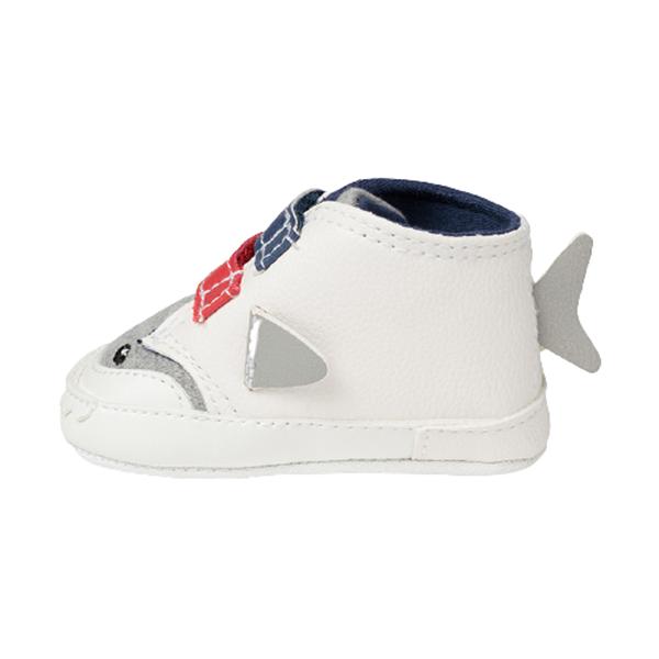 Mayoral Παπούτσι Για Νεογέννητο Αγόρι Αθλητικό Καρχαρίας, Λευκο