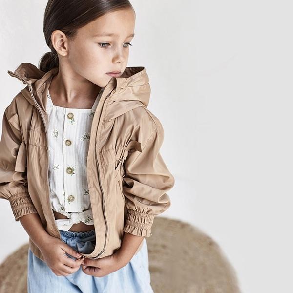 Mayoral Παιδική Πουκαμίσα Για Κορίτσι Σταμπωτή, Εκρού